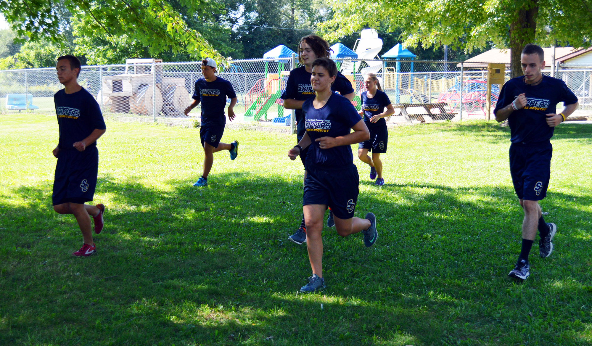 Runners excited to be part of new cross country program at SC4