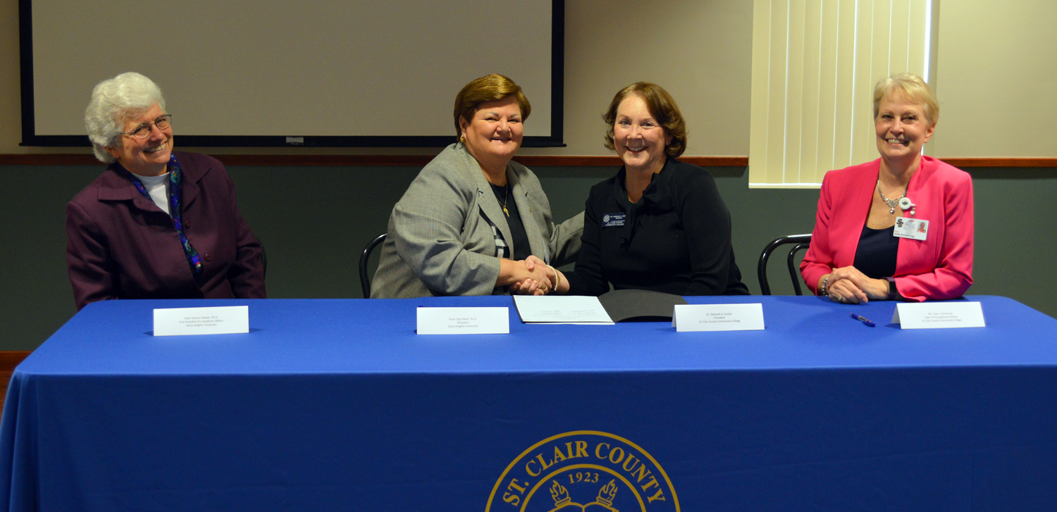 SC4 signs articulation agreement with Siena Heights