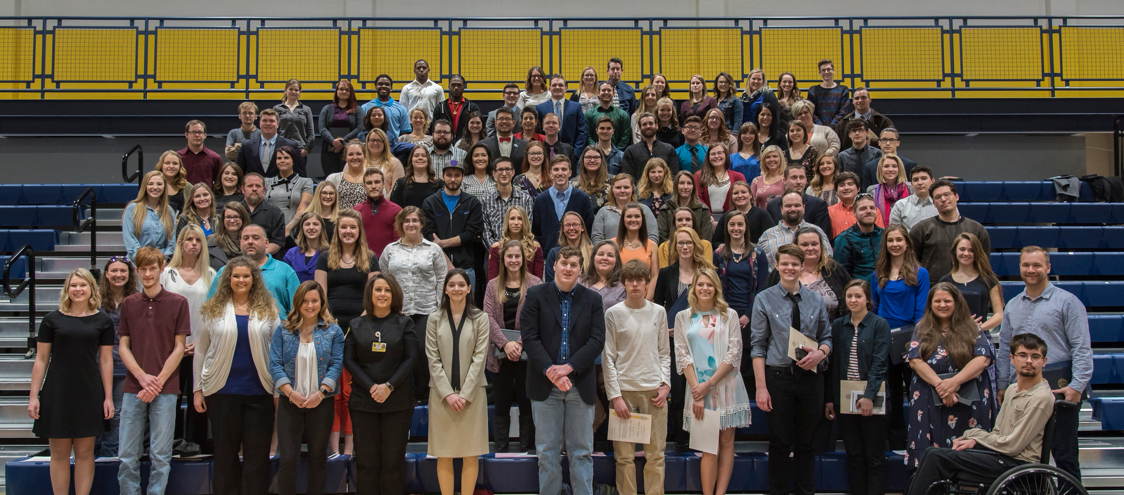 St. Clair County Community College honors 150 students with awards and recognition
