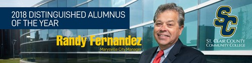 Randy Fernandez, city manager of Marysville, is Alumnus of the Year