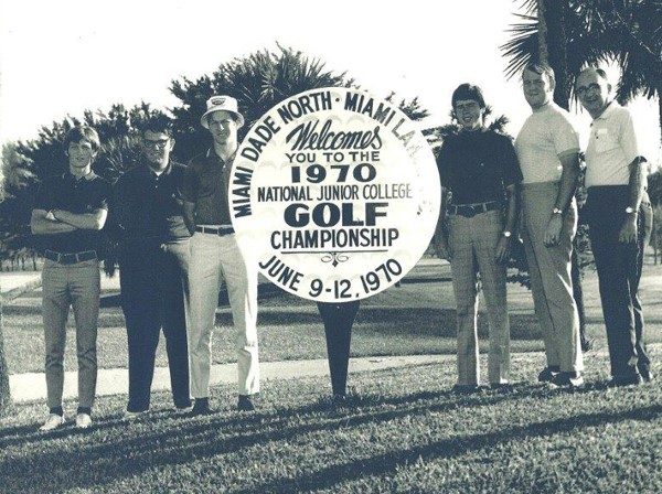1970 Men's Golf Team