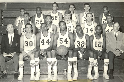 1966-67 Men's Basketball Team