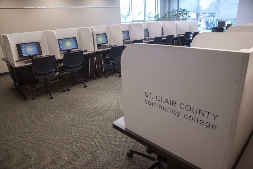 Testing Center And Placement Services St Clair County Community