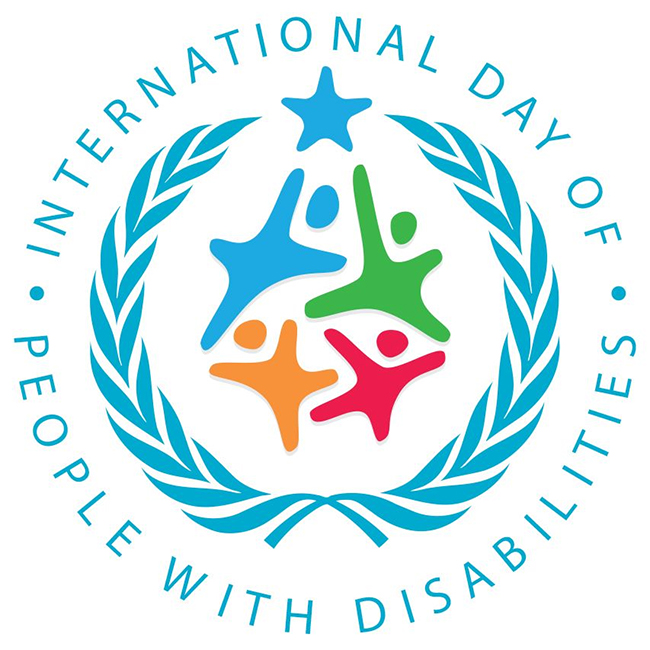 December 3rd worldwide celebration of International Day of People with Disabilities